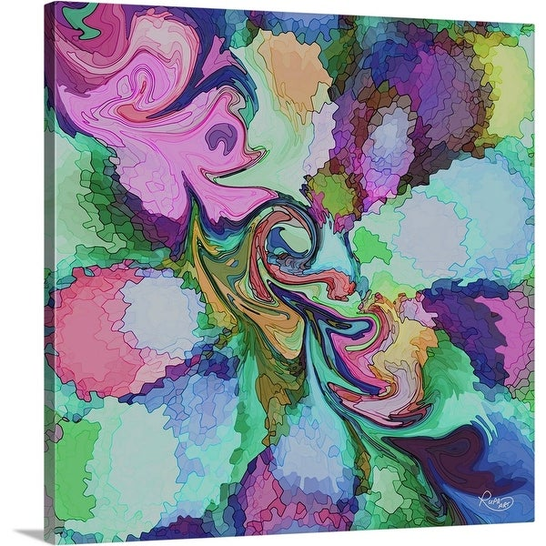 """""""Surrounded Light"""" Canvas Wall Art"""