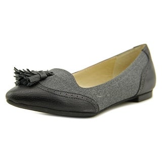 Adrienne Vittadini Bruni Pointed Toe Synthetic Flats