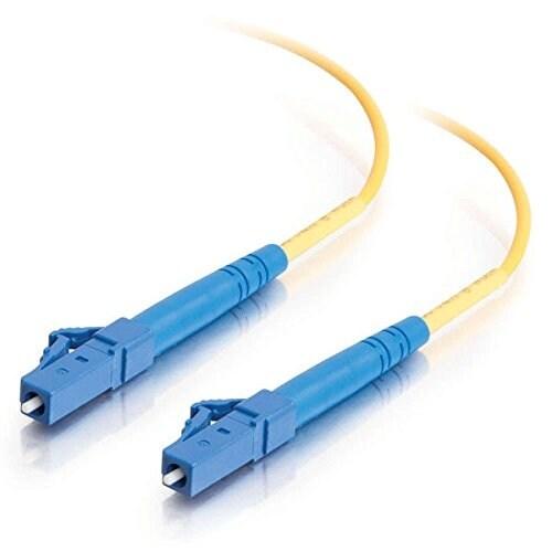 C2g 37105 3M Lc/Lc 9/125 Simplex Single-Mode Pvc Fiber Optic Cable-Yellow