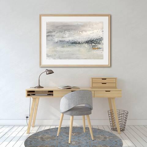 OUSHAK LIGHT BLUE Office Mat By Kavka Designs