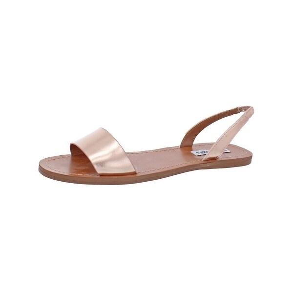 f418a328c50 Shop Steve Madden Womens Alina Flat Sandals Slingback - Free ...