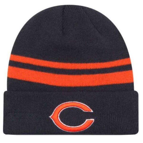 cde9d79cb New Era 2019 NFL Chicago Bears Cuff Knit Hat Beanie Stocking Winter Skull  Cap