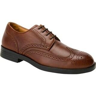 Drew Men's Clayton Tan Smooth Leather