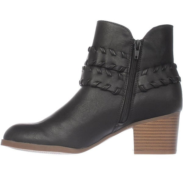 Style & Co. Womens Dyanaa Closed Toe Ankle Fashion Boots