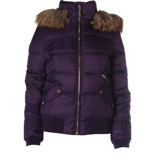 Juicy Couture Black Label Womens Quilted Short Puffer Jacket - XL