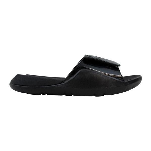 b6c22955ca0bcd Shop Nike Air Jordan Hydro 7 Black Black AA2517-010 Men s - Free ...