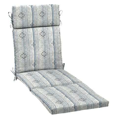 Arden Selections Rooted Outdoor 72 x 21 in. Chaise Lounge Cushion