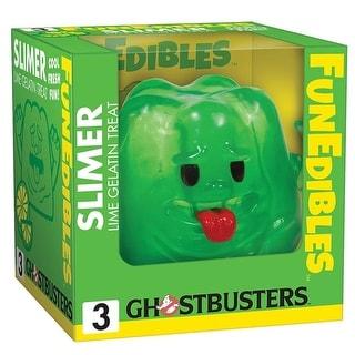 """Ghostbusters Slimer Lime Gelatin FunEdibles 4"""" Vinyl Figure"""