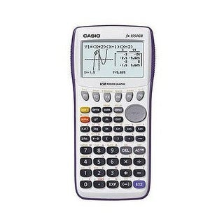 Casio Fx-9750Giiwe-L-Ih 21-Digit Lcd Graphing Calculator, White