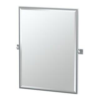 """Gatco 4059FS Elevate 27-2/3""""W X 32-1/2""""H Wall-Mounted Framed Rectangular Mirror - N/A"""
