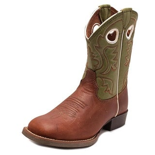 Justin Boots 307JR Square Toe Leather Western Boot