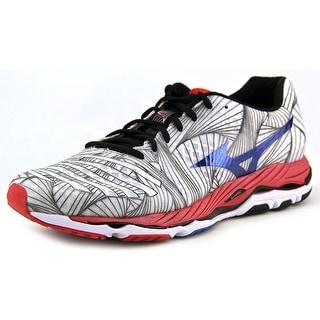 Mizuno Wave Paradox 2E Round Toe Canvas Sneakers