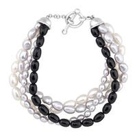 Honora 4-Strand Baroque Freshwater Pearl Bracelet in Sterling Silver