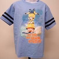 "Despicable Me ""Surfing Minions"" Kids Kid Size 4 T-Shirt 69Ou"