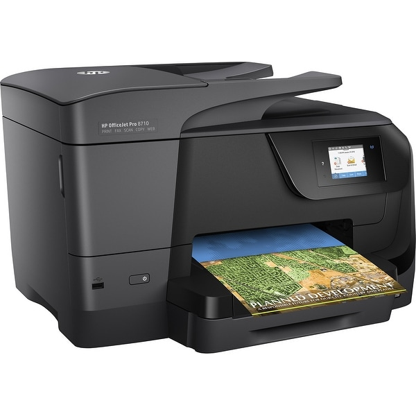 HP Officejet Pro 8710 Inkjet Multifunction Printer - Color - Plain Pa M9L66A