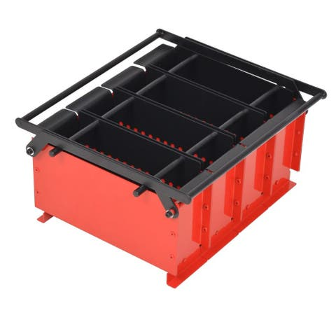 "vidaXL Paper Log Briquette Maker Steel 15""x12.2""x7.1"""