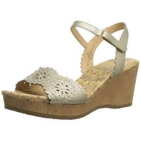 Easy Spirit Women's Marvela Wedge Sandal
