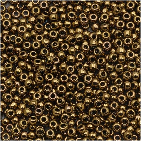 Toho Round Seed Beads 11/0 223 'Antique Bronze' 8g