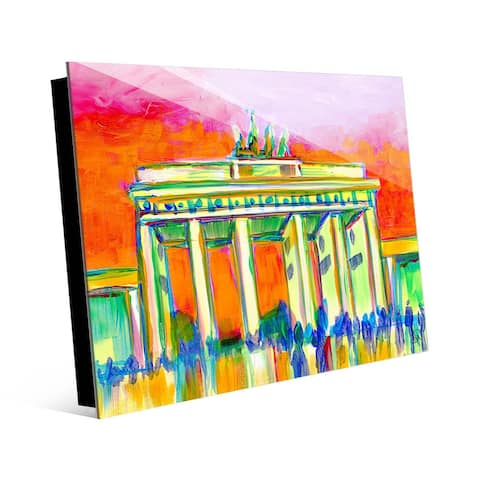 Kathy Ireland Brandenburg Gate, Berlin Germany on Acrylic Wall Art Print