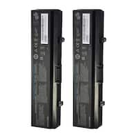 Replacement 4400mAh Battery For Dell 451-10529 / 612-0663 Battery Models (2 Pack)