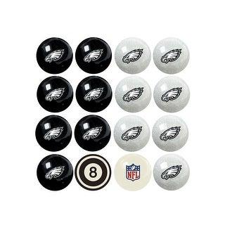 NFL Philadelphia Eagles Home vs. Away Team Billiard Pool Ball Set