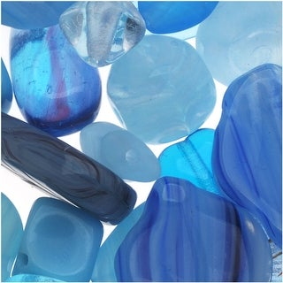 Link to Czech Glass Bead Mix Lot Assorted Shapes Aqua Capri Blue (2 oz.) Similar Items in Jewelry & Beading