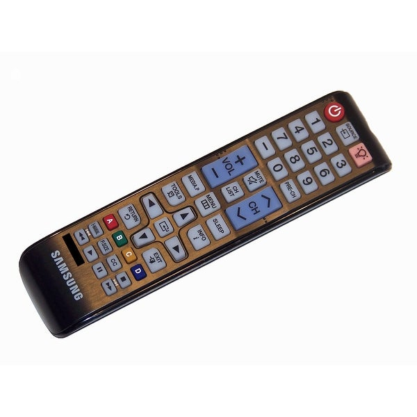 OEM Samsung Remote Control Originally Shipped With: UN58H5005AFXZA, UN40K5100AFXZA, UN24H4000AFXZA, LT24D310NHL/ZA