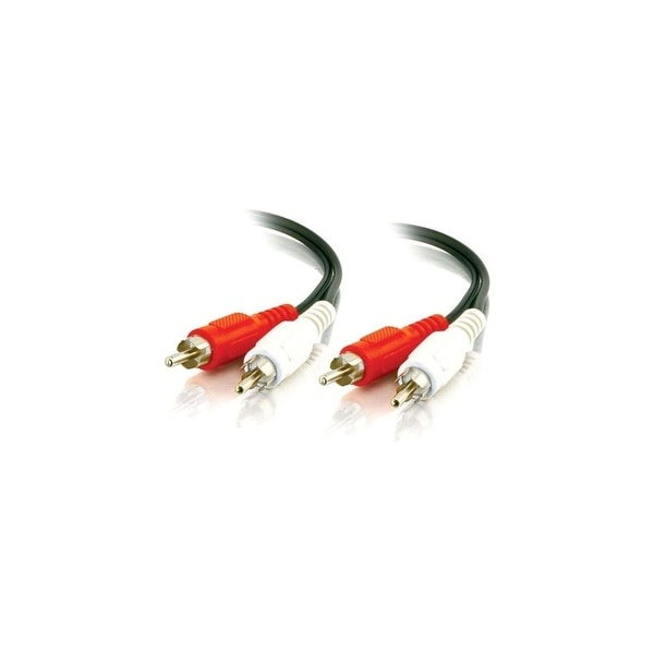 C2G 40466 C2G 25ft Value Series RCA Stereo Audio Cable - RCA - RCA - 25ft