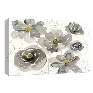 """PTM Images 9-148326  PTM Canvas Collection 8"""" x 10"""" - """"Sketching in Spring"""" Giclee Flowers Art Print on Canvas"""