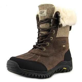 Ugg Australia Adirondack Boot II Women Round Toe Leather Brown Winter Boot