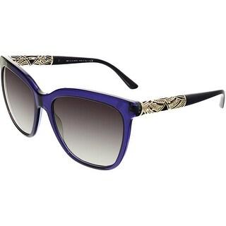 Bvlgari Women's Gradient BV8173B-53998G-56 Blue Cat Eye Sunglasses