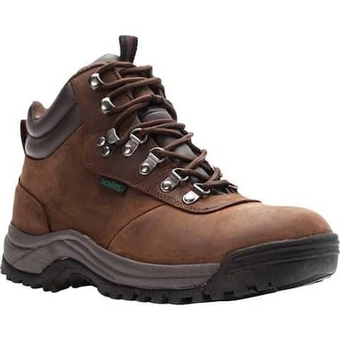 Propet Men's Cliff Walker Boot Brown Crazy Horse Leather
