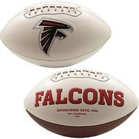 "Atlanta Falcons Embroidered Logo ""Signature Series"" Football"