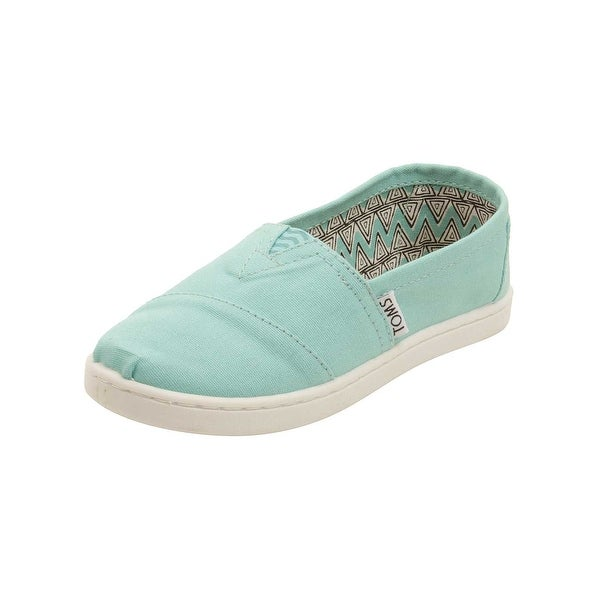 848daff1f46 Shop TOMS Youth Classic Canvas Shoes in Aqua - Free Shipping On ...