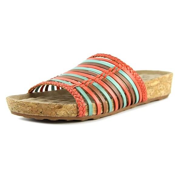 Walking Cradles Piece Women N/S Open Toe Leather Slides Sandal