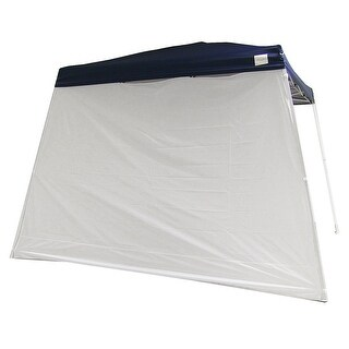 Sunnydaze Quick-Up Slant Leg Canopy Sidewall - 1 Panel, Multiple Sizes Available