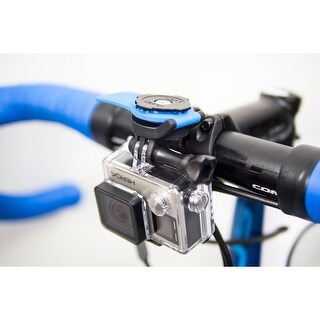 Quad Lock Out Front Camera Bicycle Mount Adapter for GoPro - Black