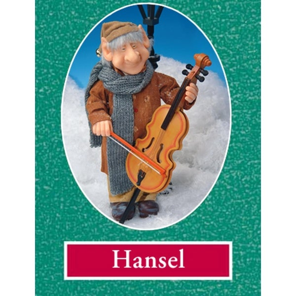 """13"""" Zims The Elves Themselves Hansel Collectible Christmas Elf Figure - multi"""
