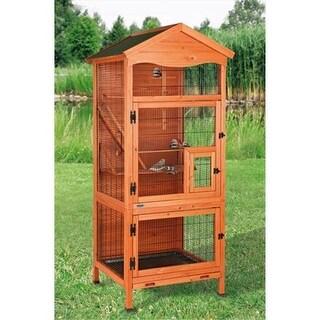 TRIXIE Pet Products 55951 Aviary Bird House - Glazed Pine