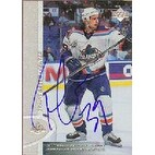 Travis Green New York Islanders 1997 Upper Deck Autographed Card This item comes with a certificat
