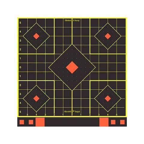 Birchwood casey 34207 b/c target shoot-n-c 12 sight-in target 5-pk