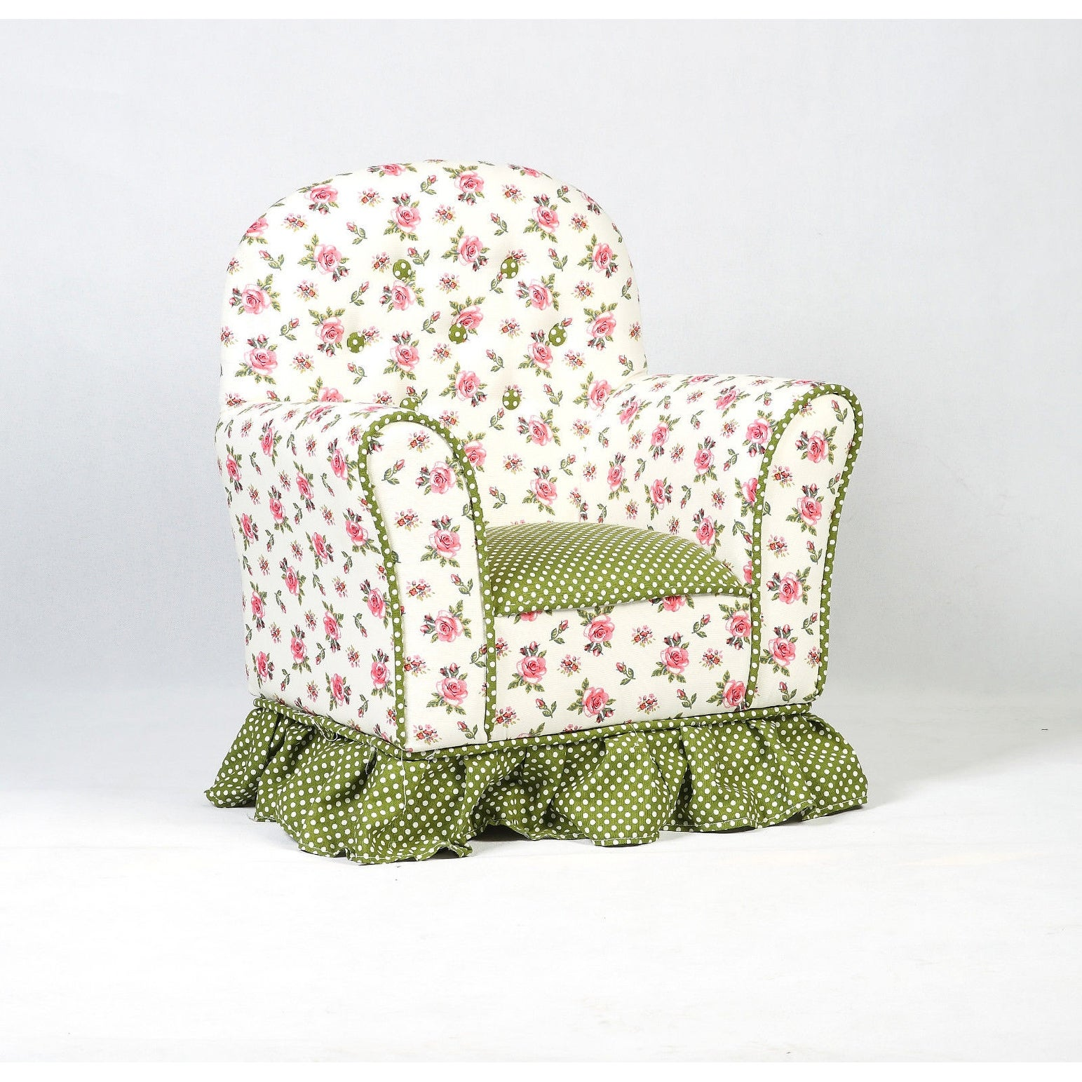 Costway Rural Style Kids Sofa Armrest Chair Couch Children Living Room  Toddler Furniture - as pic