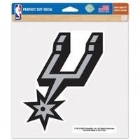 San Antonio Spurs Decal 8x8 Die Cut Color