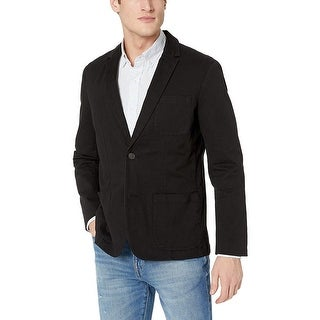 Link to Goodthreads Men's Standard-Fit Stretch Twill Blazer, Black, Small Similar Items in Sportcoats & Blazers
