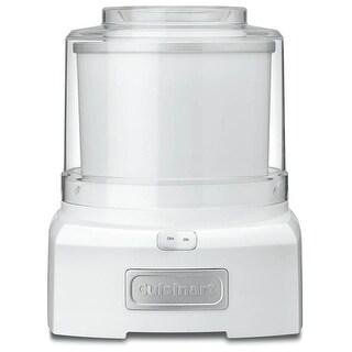 Cuisinart ICE-21 1.5 Quart Frozen Yogurt-Ice Cream Maker, White
