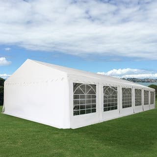 Costway 20'X26' Wedding Tent Shelter Heavy Duty Outdoor Party Canopy Carport White|https://ak1.ostkcdn.com/images/products/is/images/direct/3b81bdb6a35eee6fd589f856080aeae5fd56a97b/Costway-20%27X26%27-Wedding-Tent-Shelter-Heavy-Duty-Outdoor-Party-Canopy-Carport-White.jpg?impolicy=medium