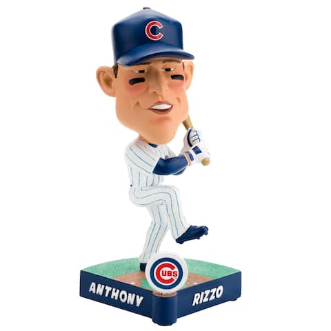 Chicago Cubs Anthony Rizzo #44 Caricature Bobblehead - Multi