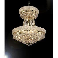 French Empire Crystal Chandelier Gold 24 Lights