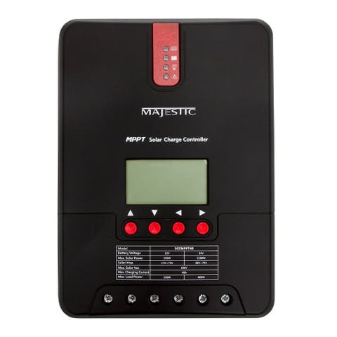 Majestic global usa majestic mppt solar and wind charge controller 40 amp sccmppt40