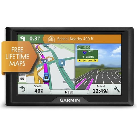 Refurbished Garmin Drive 51LM 5 Inch GPS Navigator with Free Lifetime Map Updates - Black
